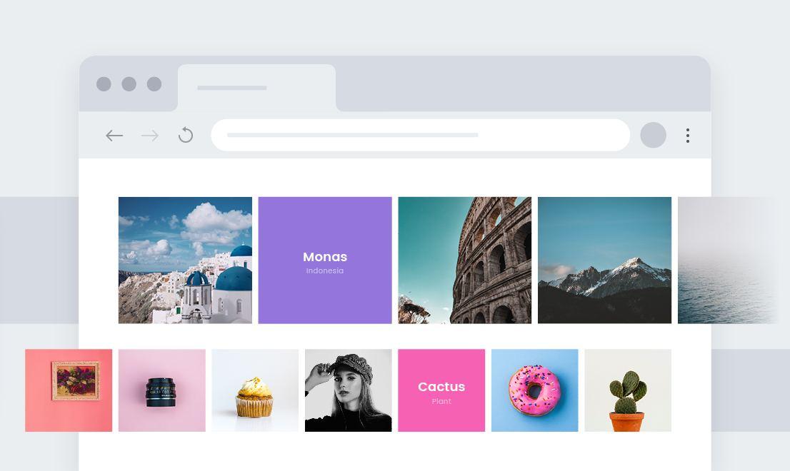 Kenzap Cloud Framework block design preview